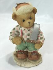 "Collectible Cherished Teddies Preston "" Riding Across The Great White North"""