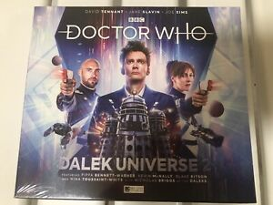 Big Finish audio 3xCD, Doctor Who, DALEK UNIVERSE 2, starring David Tennant
