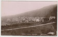 Inverness-shire postcard - Middle Terrace, Kingussie - RP