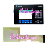 AB PanelView 600 Membrane Keypad+Touch Screen 2711-B6C8 2711-B6C8L1 #HZ78 YD