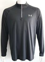 Under Armour Mens UA Heatgear Quarter Zip Pullover Activewear Size S M L XL NWT