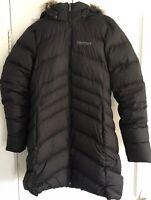 Marmot Womens Montreal Down Puffer Coat Jacket 700 Power Fill Sz L Worn twice!