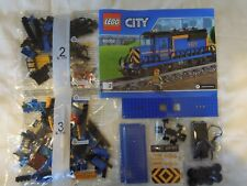 LEGO CITY BLUE GOODS TRAIN FROM SET 60052 BNSIB + MOTOR, RECEIVER, BATTERY BOX