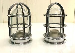 Nautical marine New mount Passageway bulkhead Ship light 2 PC