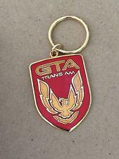 Pontiac GTA Trans Am RED Cloisonne Nose Emblem Keychain