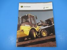 Original John Deere Sales Brochures J Loader 5 9 SAE Net Horsepower M1362