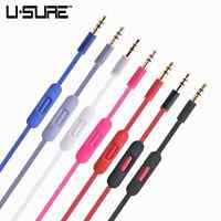 Audio Cables Cord Wire & Mic For Beats Headphone Studio 2.0 Solo 2 Mix Headphone