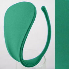 Women Solid Green C-string Thong Panty Comfy Underwear Invisible Underwear OS US