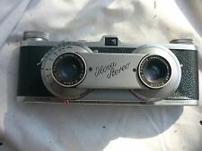 Vintage 1950's Iloca Stereo 35mm camera with case