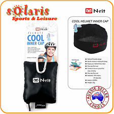 1x N-rit Cool Inner Cap Icemate Helmet Cooling Headwear for Cyclist