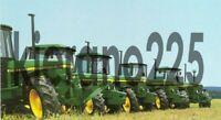 A3 Vintage John Deere 40 Series 3650 Tractor Advertising Brochure Poster