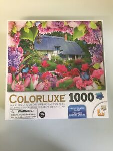 Colorluxe 1000 Jigsaw Puzzle Summer Cottage Brand New