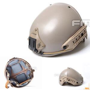 FMA  Two in one CP Helmet (L/XL)  Sports Tactical AF Helmet  DE / Deser TB310-L
