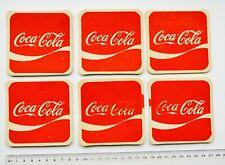 COCA-COLA Vintage Coaster Set of 6