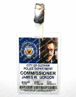 Batman Commissioner Gordon Gotham Cosplay Prop Costume Comic Con Christmas