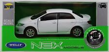 WELLY '09 TOYOTA COROLLA WHITE 1:34 DIE CAST METAL MODEL NEW IN BOX