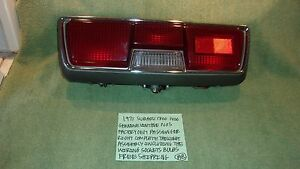 1971 SUBARU 1300 1400 NOS FACTORY OEM PASSENGER TAILLIGHT ASSEMBLY FREE SHIPPING