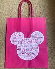 Personalised Disney Theme Party Bag Gift - Birthday - Hen - Holiday - Disneyland