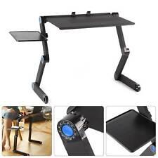 Table de Lit pour Ordinateur Portable Pliable Support PC repose Laptop canapé FR