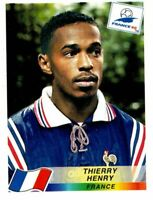 PANINI WORLD CUP FRANCE 98 FIGURINA N. 172 THIERRY HENRY (FRANCE) ROOKIE