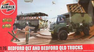 AIRFIX 1/76 Bedford QLT & QLD Trucks