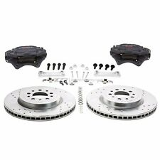 "ZZPerformance 13.6"" Front Brake Kit W/ Brembo calipers For 2000-08 Chevy Impala"