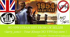 1954 Alcatraz Steam key NO VPN Region Free UK Seller