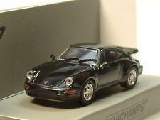 Minichamps Porsche 911 Turbo (964), 1990, schwarz - 870 069104 - 1:87