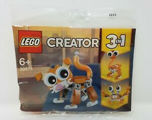 LEGO 30574 Creator 3 in 1 Cat, Crab and Ostrich Poly Bag Ready to Ship