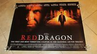 RED DRAGON movie poster (B) ANTHONY HOPKINS poster SILENCE OF THE LAMBS poster