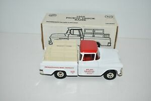 ERTL Die Cast 1955 Chevy Pick-up AR-JAY Sales 1:25 Scale Bank