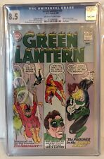 GREEN LANTERN #35 - CGC 8.5 - 1ST APPEARANCE OF THE AERIALIST - OW/W PAGES