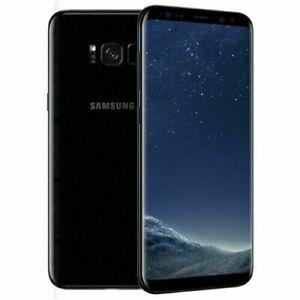Nuovo Samsung Galaxy S8 SM-G950U - 64GB - Nero Midnight Black (Sbloccato) IT TOP