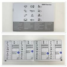 New BMW SERVICE BOOK (Stamped) Service History ALL MODELS