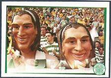 "PANINI ""HERE COME THE BHOYS""-CELTIC 2001- #161-THERE'S ONLY TWO HENRIK LARSSONS!"