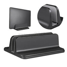 More details for uk adjustable vertical aluminum desktop laptop stand tablet holder for notebook