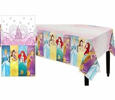 Disney Princesses Plastic Table Cover Birthday Party Decoration Supplies Latest