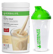 Herbalife Formula 1 Healthy Meal Nutritional Shake Mix French Vanilla WITH CUP