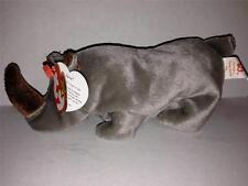 TY BEANIE BABIES SPIKE RHINO 5TH GENERATION W/TAGS EXCELLENT 8/13/1996