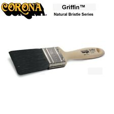 Corona Griffin Top Quality Natural Black China Bristle Paint Brush.
