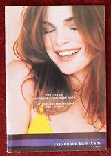 Princesse Tam Tam ~ Lingerie Catalog ~ Fall/Winter 2003/04 ~ Bras Panties