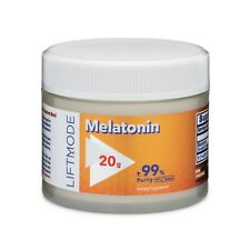 Liftmode Melatonin 99% Pure - 20 Grams | Supplement for Sleep