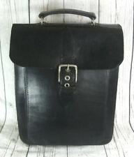 Douglas Adam Hand Crafted Mushroom Large Leather Rucksack Backpack Tote Bag