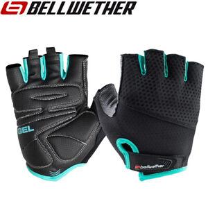 Bellwether Gel Supreme Womens Cycling Gloves - Black Aqua