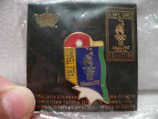 Official Table Tennis Olympic Games Pin in Atlanta 1996 NIP Aminco