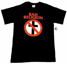 BAD RELIGION T-shirt LA Hardcore Punk Rock Band Tee Adult Mens SMALL Black NWT