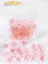 Ciucci 24 pezzi Rosa Cioccio in Plastica 2cm x Confezione Bomboniere Nascita
