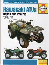 1986-2011 Kawasaki Bayou Prairie 220 250 300 Repair Service Workshop Manual 174X