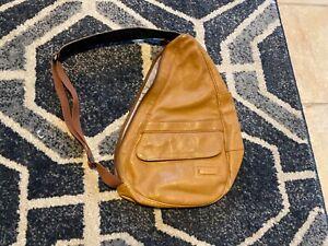ll bean leather bag brown