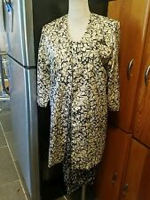 Apostrophe vintage dress with jacket size 6p dress sleeveless knee length